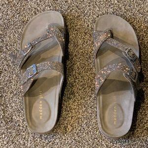 Madden Girl Sparkle Sandals